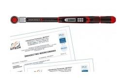 Klucz dynamometryczny 20 ÷ 200 Nm 1/2'' ze świadectwem wzorcowania PCA
