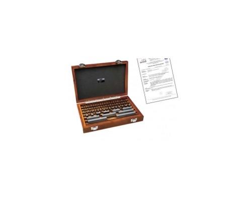 Płytki wzorcowe stalowe komplet 32szt. KL. 1 (INSIZE) ze świadectwem wzorcowania