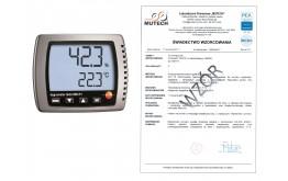 Termohigrometr TESTO 608 H1 ze świadectwem wzorcowania PCA /bez świadecta wzorcowania