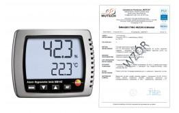 Termohigrometr TESTO 608 H2 ze świadectwem wzorcowania PCA /bez świadectwa wzorcowania