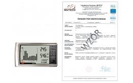 TESTO 623 - urządzenie do pomiaru temperatury i wilgotności ZE ŚWIADECTWEM WZORCOWANIA PCA