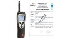 testo 625 - higrometr ze świadectwem wzorcowania PCA /bez świadectwa wzorcowania