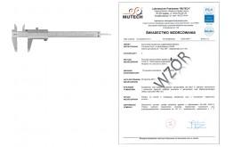 Suwmiarka analogowa LIMIT 150 mm ze świadectwem wzorcowania PCA