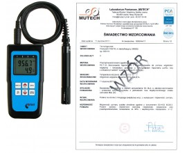 Termohigrometr D3121 ze świadectwem wzorcowania
