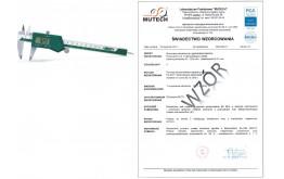 Suwmiarka elekt. 150 mm INSIZE ze świadectwem wzorcowania PCA