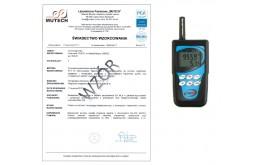 TERMOHIGROBAROMETR z rejestracją D4130 ze świadectwem wzorcowania PCA/ bez świadectwa wzorcowania