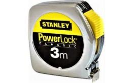 PRZYMIAR WSTĘGOWY 3 m STANLEY PowerLock® ze świadectwem wzorcowania PCA