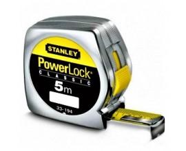 PRZYMIAR WSTĘGOWY 5 m STANLEY PowerLock® (obudowa z tworzywa) ze świadectwem wzorcowania PCA