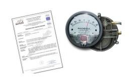 MANOMETR MAGNEHELIC 0-500 Pa ze świadectwem wzorcowania PCA