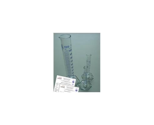 Cylinder Pomiarowy 100 ml ze świadectwem wzorcowania